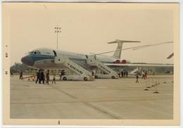 AEREO PLANE AIRCRAFT AEROPORTO DI TORINO CASELLE - FOTO ORIGINALE 1968 - Aviation