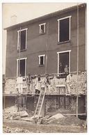 Carte Photo , Bobigny , Immeuble En Travaux - Postcards