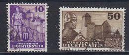 Liechtenstein 1937 Definitives 10+ 50Rp Used(42865A) - Gebruikt