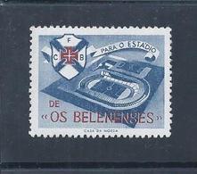 Vinheta Do Estádio De Futebol Do Belenenses, Restelo, Lisboa. Vignette Of Belenenses Football Stadium. Soccer. Fußball - Voetbal