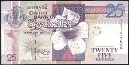 Seychelles - 25 Rupees / Roupi 2008 - P 37b - Seychelles