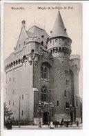 Cpa Carte Postale Ancienne  -bruxelles Musee De La Porte De Hal - Musées