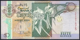 Seychelles - 50 Rupees / Roupi 2011 - P43 - Seychelles