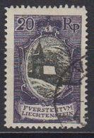 Liechtenstein 1921 Freimarke 20Rp  St. Mamertus-Kapelle Used (42866A) - Gebruikt