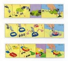 Componibili KINDER - 2000 - Cartine Nr. 50 - 51 - 52 - (FDC15614) - Istruzioni