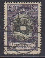Liechtenstein 1921 Freimarke 20Rp  St. Mamertus-Kapelle Used (42866B) - Gebruikt