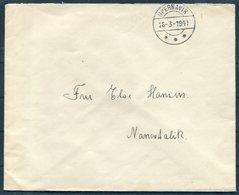 1940 Greenland Internal (stamp Free Mail) Cover. Upernarvik - Nanortalik - Brieven En Documenten