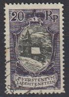 Liechtenstein 1921 Freimarke 20Rp  St. Mamertus-Kapelle Used (42866C) - Gebruikt