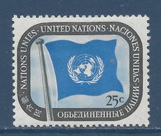 Nations Unies New York - YT N° 9 - Neuf Sans Charnière - 1951 - New York – UN Headquarters