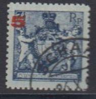Liechtenstein 1924 Freimarke 5Rp Auf 7,5Rp Perf. 12,5 Used (42866D) - Gebruikt