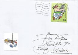 Germany Deutschland 2015 Fischbachau Comic Obelix Strip Bande Desinnee Cover - Disney