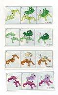 Componibili KINDER - 1999 - Cartine Nr. 1 - 2 - 3 - 4 - (FDC15615) - Istruzioni