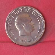INDIA 1/8 TANGA 1901 -    KM# 14 - (Nº28939) - Portugal