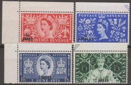 Oman/Sultanat 1953 Michel N.44-47 4v MNH - Oman