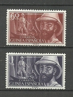 ESPAÑA COLONIAS GUINEA 1955  Yt:ES-GN 363 364, Edi:ES-GN 342 343 * MLH - Spanish Guinea