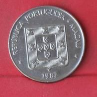 MACAU 1 PATACA 1982 -    KM# 23,1 - (Nº28944) - Portugal