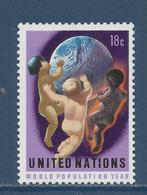 Nations Unies New York - YT N° 246 - Neuf Sans Charnière - 1974 - New York – UN Headquarters