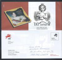 Rainha D. Maria II. Pagela De Porte Pago. Queen D. Maria II. Paid Postage Paid. Königin D. Maria II. Porto Bezahlt. - Royalties, Royals