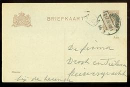 BRIEFKAART Uit 1922 * GELOPEN Van Lokaal AMSTERDAM  (11.559j) - Postwaardestukken
