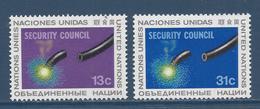 Nations Unies New York - YT N° 277 Et 278 - Neuf Sans Charnière - 1977 - New York – UN Headquarters