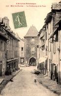 12 - Mur-de-Barrez - Le Faubourg Et La Tour - France
