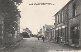 44 -Très Belle Carte Postale Ancienne De LE PELLERIN  Route De Sainte Pazanne - France