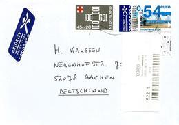 Nederland Netherlands 2009 Hierden Beach Meter TNT Post Cover - Marcofilie - EMA (Print Machine)