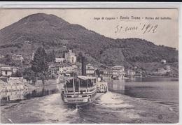 PONTE TRESA ARRIVO DEL BATTELLO VG   AUTENTICA 100% - TI Ticino