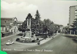 GALLARATE. Monumento Ai Caduti. Chiesa. San Francesco. Macchina. Auto. .   515 - Varese