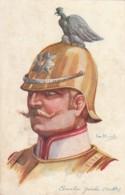 ***  Illustrateur   Dupuis Chevalier Garde Russe - Unused/neuve  TTBE Série Nos Alliers - Uniformes