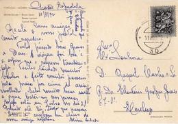 Portugal - Carimbo Numérico N°30 - Sobre Bilhete Postal De Monte-Gordo - Storia Postale