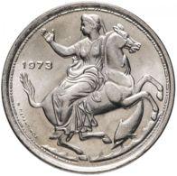 Greece. Coin. 20 Drachmas. 1973. UNC. Rider - Grecia