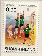 PIA - FINLANDIA - 1977 : Campionati Europei Di Pallavolo - (Yv 779) - Pallavolo