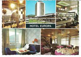 3078v: AK Hotel Europa In Budapest, Ungelaufen (ca. 1970) - Ungarn