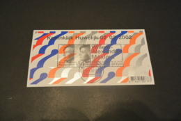 M6312 - Bloc Used Nederland - Netherlands - 2002 Huwelijk Willem-Alexander Maxima - Royalties, Royals