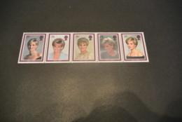M6322 -set In Strip MNH - Great-Britain - 1998 Lady Diana - Royalties, Royals