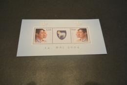 M6335 -Bloc MNH Faroe Island  2004 - Royalties, Royals