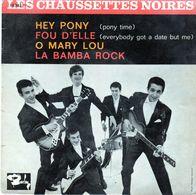 Disque Les Chaussettes Noires - Hey Pony - Barclay 70383 M - 1961 - Rock