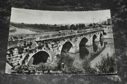 6196    RIMINI, PONTE DI TIBERIO SUL MARECCHIA - 1956 - Rimini