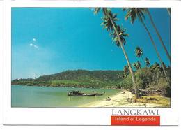 3078t: AK Malaysia, Langkawi, Gelaufen 1999 Nach Österreich - Malaysia