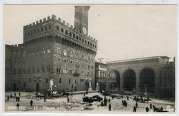 C.P.  PICCOLA    FIRENZE  17    PIAZZA  DELLA   SIGNORIA       (NUOVA) - Firenze