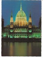 3078s: AK Parlament Budapest, Gelaufen 1991 Nach Österreich - Hongrie