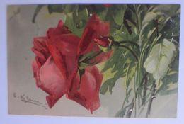 Blumen, Rosen,    1906, C. Klein ♥  (66701) - Klein, Catharina