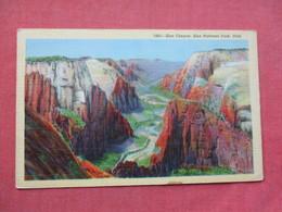 - Utah > Zion National Park   Canyon   Ref 3382 - Zion