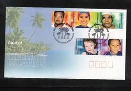 Cocos ( Keeling) Islands 2000  Interesting FDC - Kokosinseln (Keeling Islands)