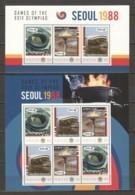 Nevis - MNH Set Of 2 Sheets -SUMMER OLYMPICS SEOUL 1988 - Zomer 1988: Seoel