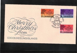 Cocos ( Keeling) Islands 1988 Christmas FDC - Kokosinseln (Keeling Islands)