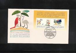 Cocos ( Keeling) Islands 1984 Integration With Australia FDC - Kokosinseln (Keeling Islands)