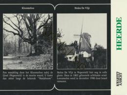 Heerde - Kwartet Ansicht - Kloosterbos - Molen De Vlijt [4A-1.617 - Pays-Bas