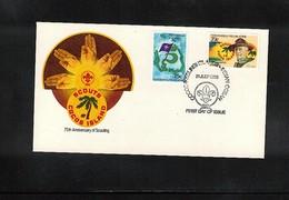Cocos ( Keeling) Islands 1982 Scouting FDC - Kokosinseln (Keeling Islands)